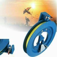 Professional Outdoor Kite Line Winder Winding Reel Grip Wheel With 100M Strings