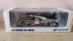 Spark 1:43 Audi R18 TDi 2011 Le Mans 24 Hours #2 Fassler / Lotterer / Treluyer