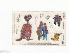 Letraset Action Transfers sheet LP212/1 cereal toy E T Extra Terrestrial 1982