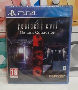 Resident Evil: Origins Collection PS4 NUOVO SIGILLATO ITA