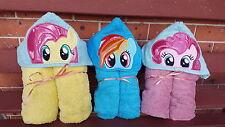 Hooded Towels MLP My Little Pony Children Kids Beach Bath Cartoon