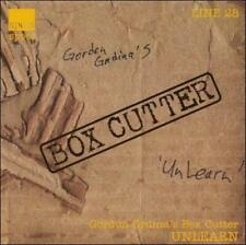 GORDON GRDINA/GORDON GRDINA'S BOX CUTTER - UNLEARN NEW CD