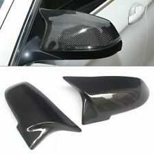 Pair of Carbon Fiber Car Side Rearview Wing Mirror Cap Cover Fit for BMW F20 F87