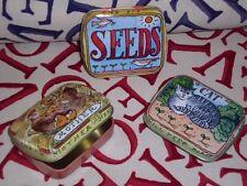 Matthew Rice Emma Bridgewater Mini Pill Tins Set Of 3 Cat Mother Hen & Seeds