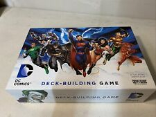 DC Comics Deck Building Game Cryptozoic Entertainment Complete Slightly Used