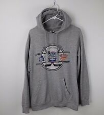 Detroit VS Toronto Winter Classic Hoodie Reebok Gray NHL Men's M