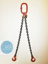 2mtr x 2 leg 7mm Lifting Chain Sling 2.12 tonne