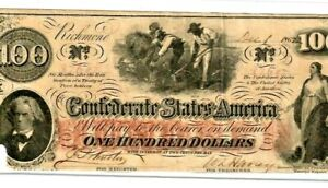 """$100 """"SLAVES HOEING""""(CONFEDERATE)  $100  (CONFEDERATE) CRISPY>>>>>>>>BUT<<<<<<<<"""