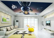 3D Spaceman Spaceship 7 Wall Paper Wall Print Decal Wall Deco AJ WALLPAPER