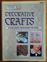 The Australian Womens Weekly Home Library DECORATIVE CRAFTS From Around World
