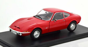 1:24 Hachette Opel Collection Opel GT 1900 1968 red