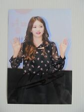 Suzy Bae Miss A 4x6 Photo Korean Actress KPOP autograph signed USA Seller 16