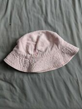 Mothercare girls pink Sunhat 1 2 3 Years