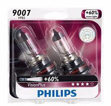 2x Philips 9007 HB5 VisionPlus Upgrade Headlight +60% More Light Bulb 65/55W 12V