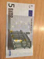 5 Euro Schein mit Fehldruck