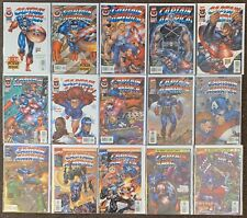 Captain America 1 A B,2,3,4,5 A B,6,7,8,9,10,11,12,13 Heroes Reborn 1996 Liefeld