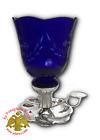 Orthodox Standing Vigil Lamp Carved Glass Orthodoxe Ikonenampel Ewiglicht Glas