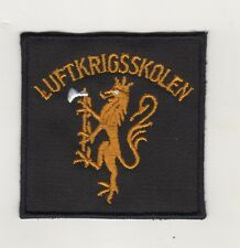 Uniform Aufnäher Patches Luftkrigsskolen Royal Norwegian Air Force Academy