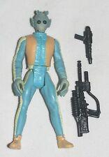 Star Wars GREEDO w/ Blaster Pistol  1998 POTF  Loose