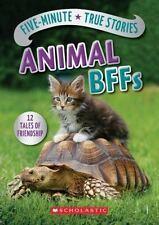 Five-Minute True Stories: Animal BFFs by Aubre Andrus (2016, Hardcover)