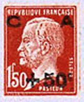 "FRANCE STAMP N° 255 "" CAISSE D'AMORTISSEMENT PASTEUR +50c S 1F50 "" NEUF x TB"
