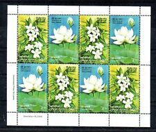 Sheet of Sri Lanka 2006 MNH Flowers set