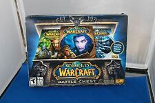 World of Warcraft Battle Chest (PC) NEW open scuffed box