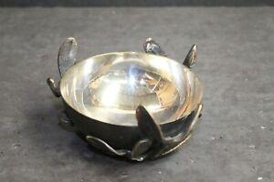 Vintage L'objet Metal Coin Dish