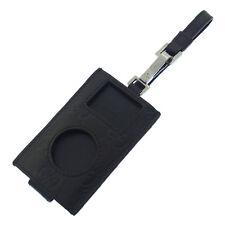 Gucci iPod case Guccissima Black Silver Woman Authentic Used E546