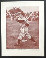 1943 M114 Baseball Magazine Poster Phil Rizzuto New York Yankees Hall-of-Fame