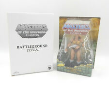 MotU Masters Classics The Original BATTLEGROUND TEELA Action Figure Mailer Neu