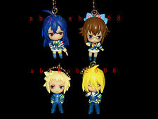 Bandai MEDAKA BOX figure Keychain gashapon (set of 4 keychain figures)