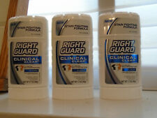 3 Right Guard Clinical Clear Clean Solid Antiperspirant Deodorant