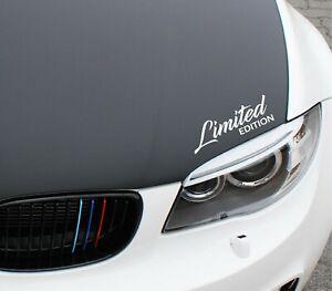Limited Edition Aufkleber Auto Tuning Autoaufkleber Sticker JDM