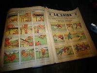 Ancien Journal La LOIRE REPUBLICAINE 1905 Caricatur Satyre Humour illustré