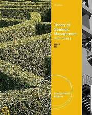 (Good)-Theory of Strategic Management with Cases, International Edition (Paperba