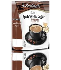 Malaysia Chek Hup Ipoh White Coffee 3 In 1 Original 15 Sachets 40g