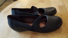 Clarks ladies shoes size 7.5 new Black Leather Coffee Mill