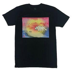 Avatar The Last Airbender Men's T Shirt Aang Appa MoMo Kanji Painting