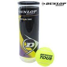 Dunlop Tubo 3 palline tennis Tour professionali con tecnologia HI VIS