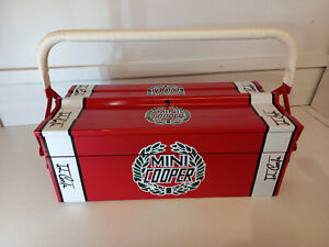 classic mini cooper cantilever toolbox gr8gift  free p&p recreation red