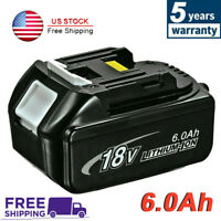 6.0Ah 18V For Makita BL1860B REPLACE LXT Battery BL1850 BL1830 194230-4 Cordless