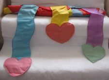 Hearts with trailing Hearts Streamers Flag