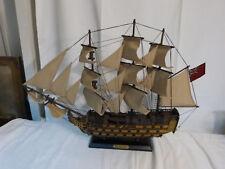 Modellschiff HMS Victory England Holz Schiffsmodell Schiff Segelschiff 55cm