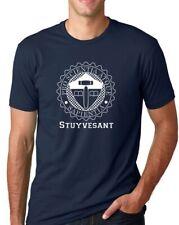 Stuyvesant High School Logo T-Shirt, Short Sleeve, Navy
