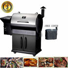 Z GRILLS Wood Pellet Grills 8 in 1 Smoker Outdoor BBQ Grill Auto Temp Control