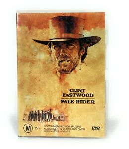 Pale Rider (DVD, 1985) Clint Eastwood Region 4 Free Postage