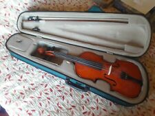 Violin by Antoni: three quarter size with case and NEW bow