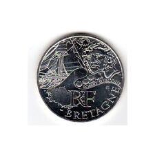 """Pièce de 10 euros des régions """"Bretagne"""" 2012."""