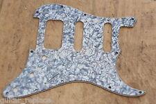 Golpeador  Gris Perlado HSS Stratocaster Lonestar Pickguard 3 Capas Humbucker